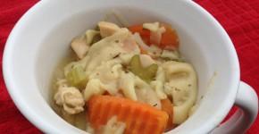 peanut allergy chicken noodle soup